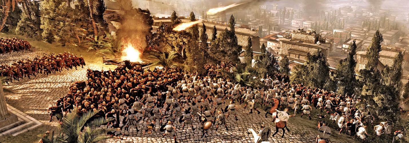 Релиз первого патча Total War: Rome 2