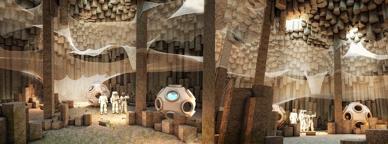 Sunday Science: концепт Марсианской подземной базы