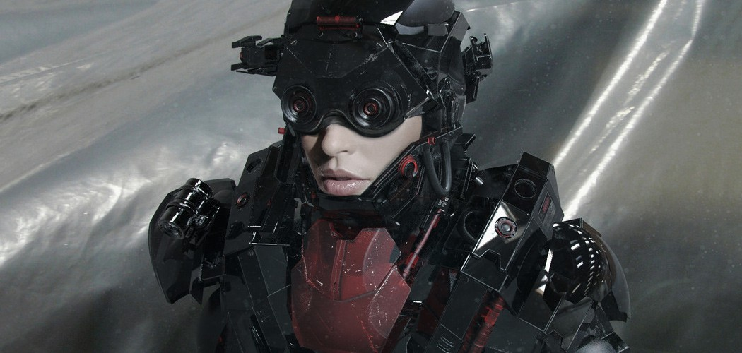 Art: Боевая броня и космический костюм 2040 года