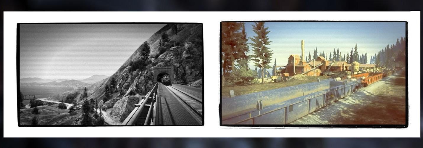 Скриншоты GTA 5 от профессионального ландшафтного фотографа