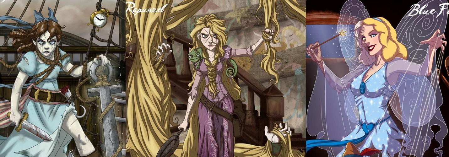 Искаженные принцессы