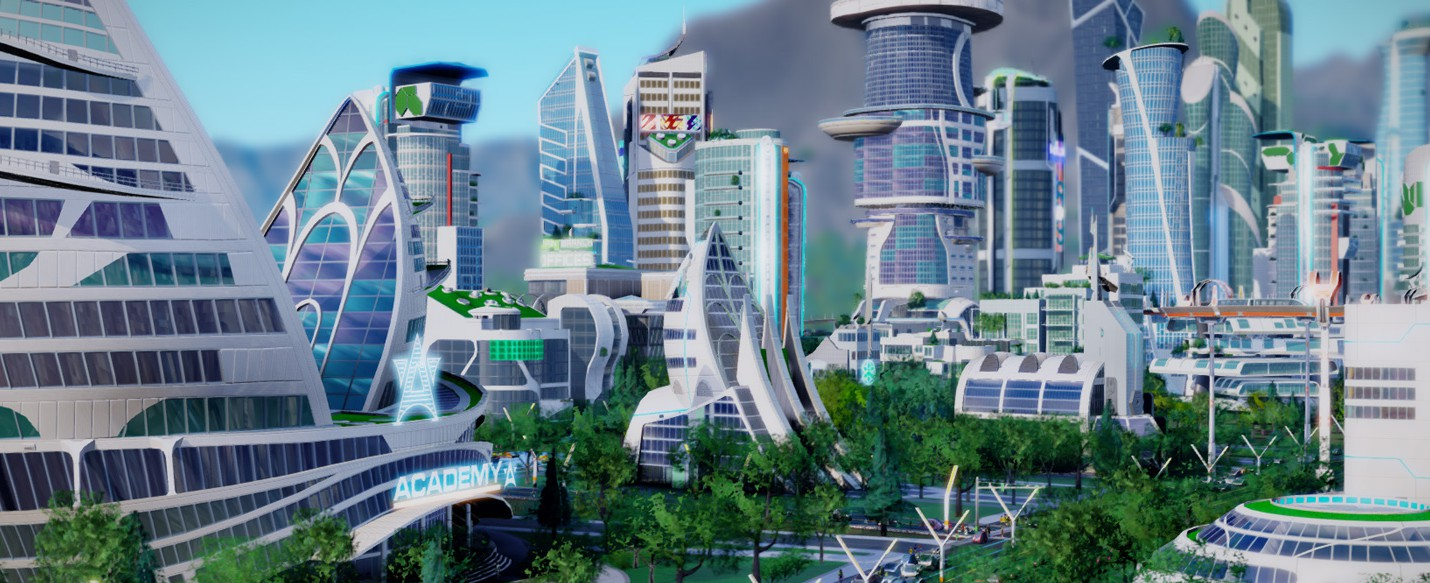 Трейлер DLC SimCity: Cities of Tomorrow
