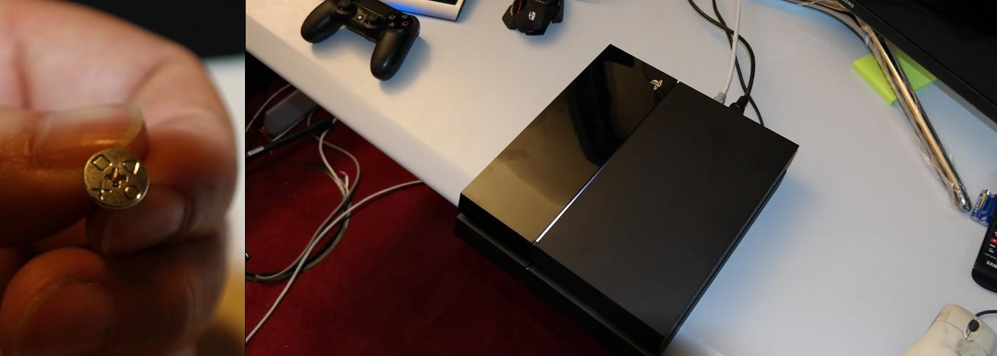 Детальный взгляд на PS4 + замена жесткого диска