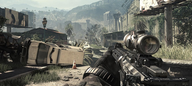 15 минут геймплея Call of Duty: Ghosts на максимальных настройках