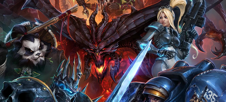 Первый геймплей Heroes of the Storm