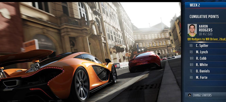 Демонстрация Xbox One Snap