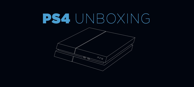 Распаковка PS4