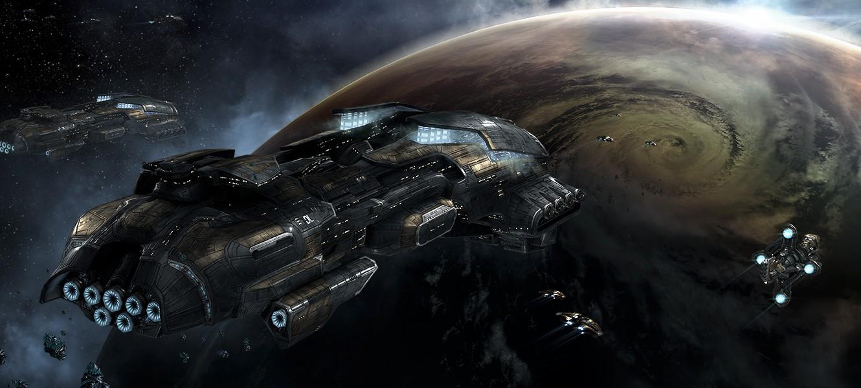 Трейлер нового дополнения EVE Online: Rubicon