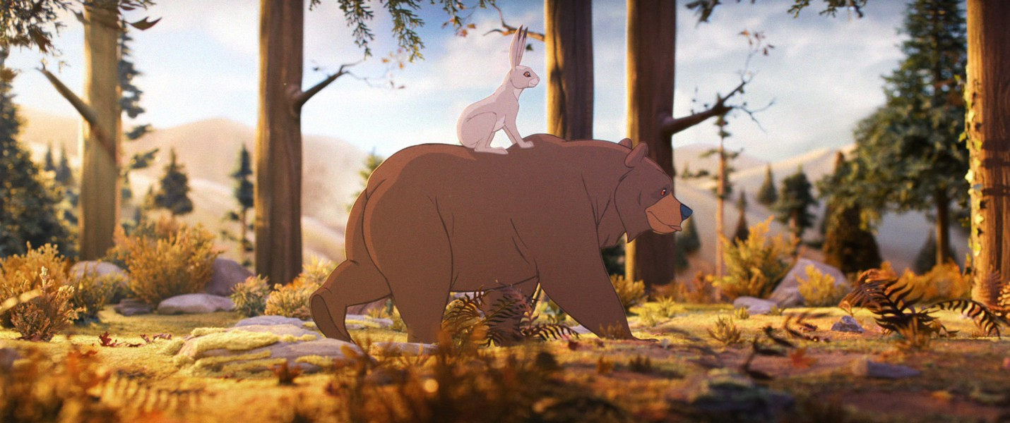 """Как создавался ролик """"Мишка и Заяц"""" для John Lewis"""