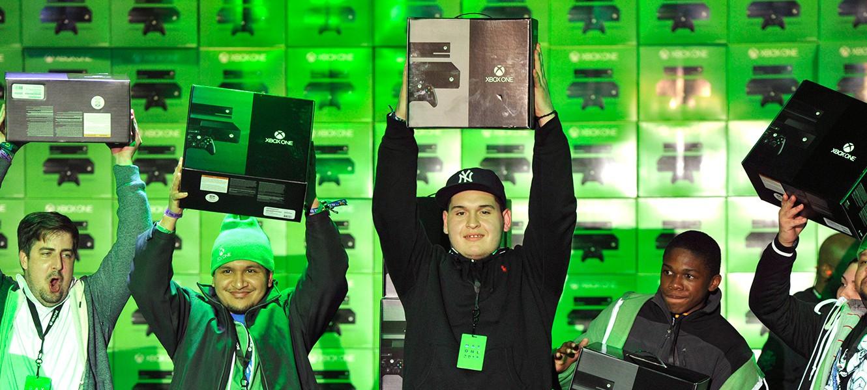 Microsoft: за сутки продан миллион Xbox One по всему миру