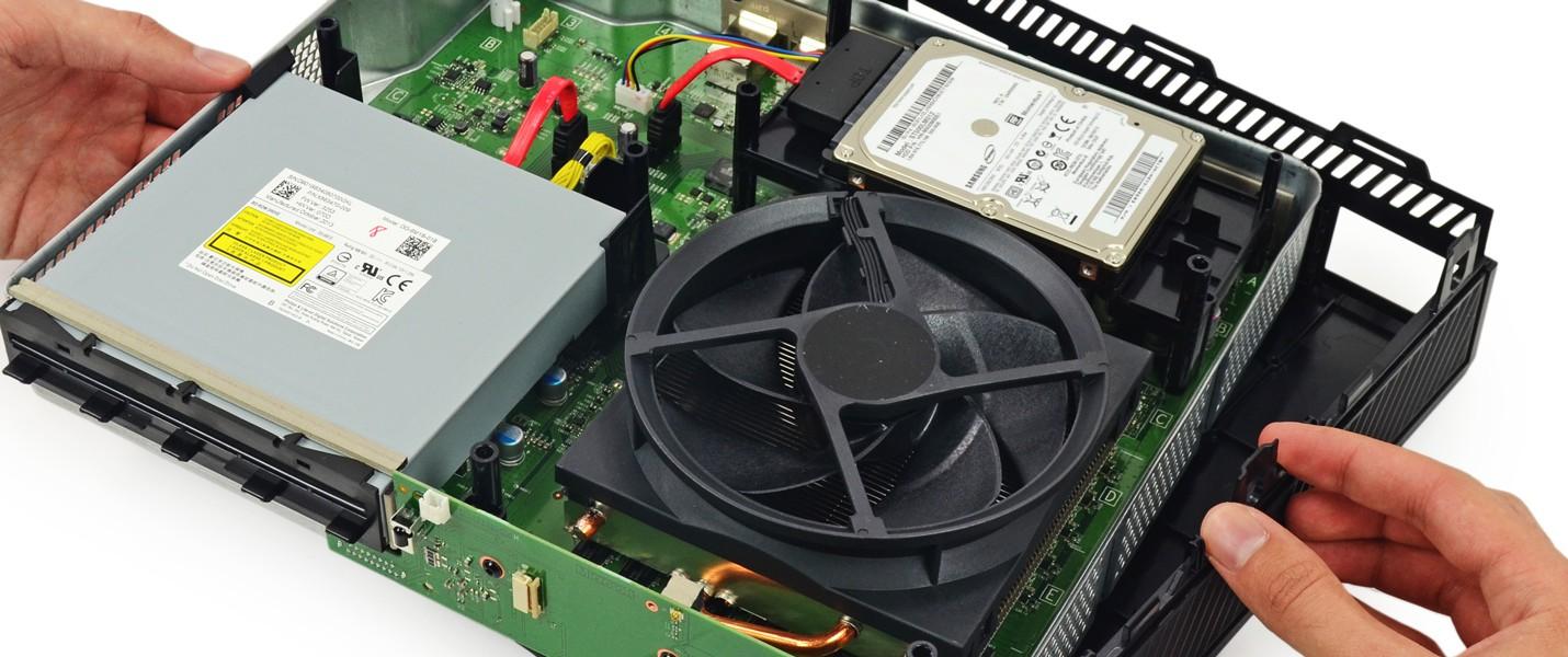 Xbox One под термальной камерой