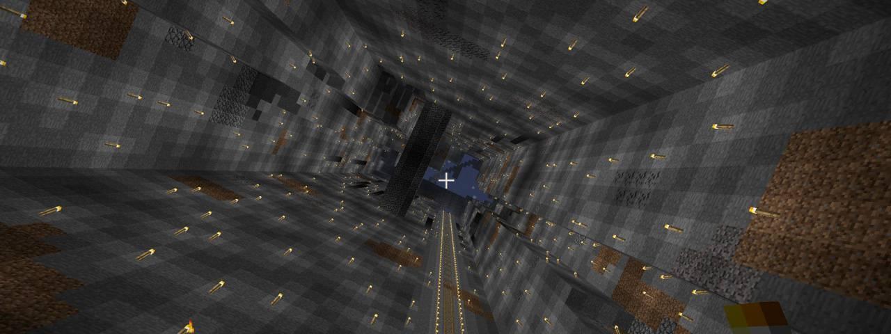 Два часа на разрушение неразрушимого блока в Minecraft