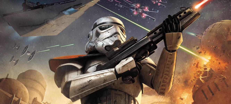 Пара деталей Star Wars: Battlefront