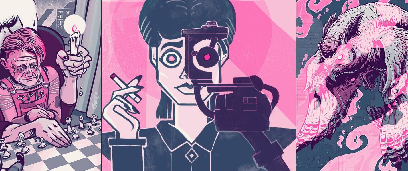Журнал артов Blade Runner