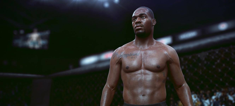 Next-gen поры и пот на новых скриншотах UFC