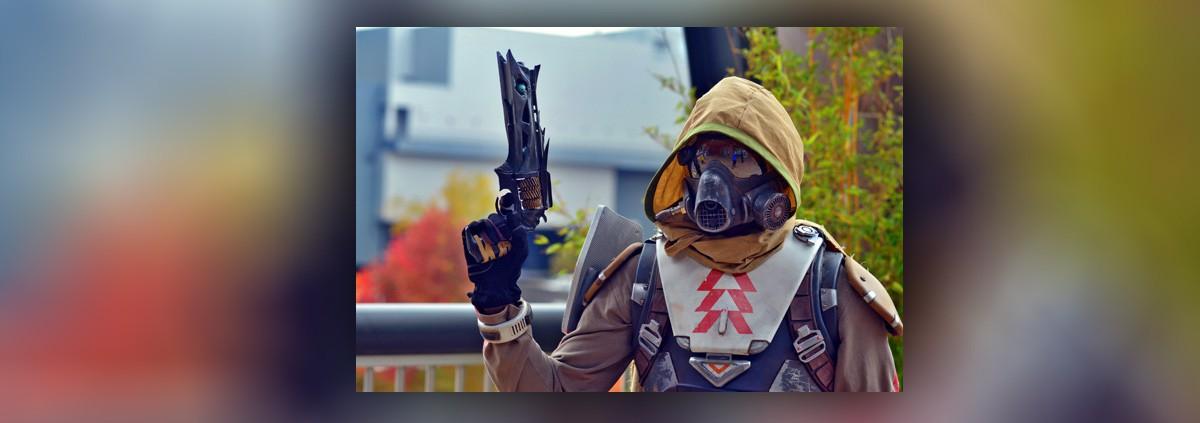 Детальная копия пистолета из Destiny