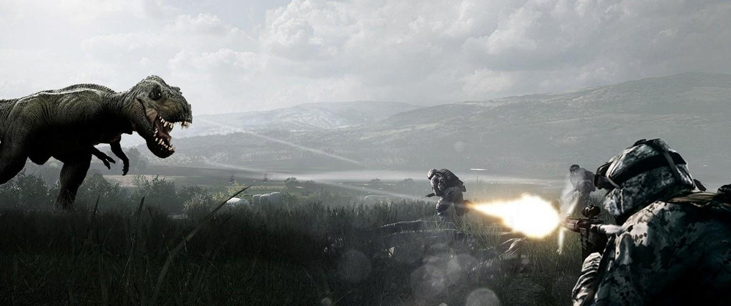Пасхалка Battlefield 4: Рев динозавров