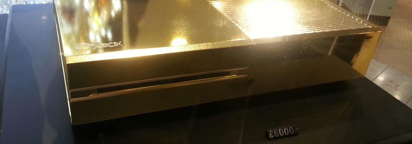 Золотой Xbox One за 6000 фунтов стерлингов