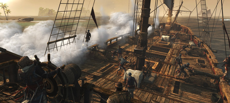 PhysX для Assassin's Creed 4