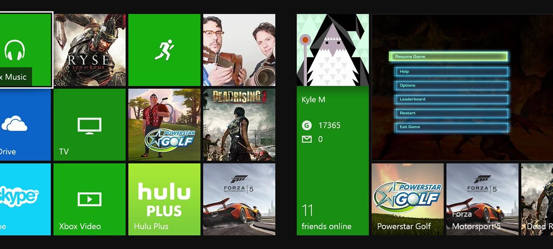 ОС Xbox One: мы слушаем отзывы каждый день