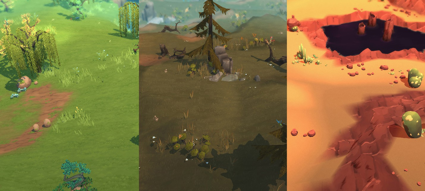 Cкриншоты из альфы Until Dark