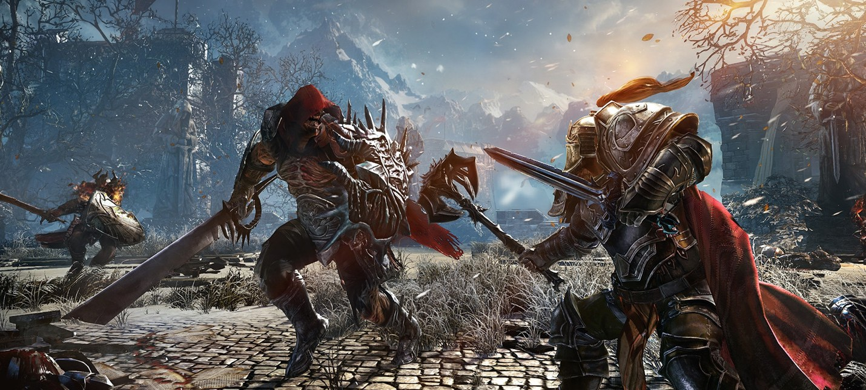 Новые скриншоты Lords of the Fallen