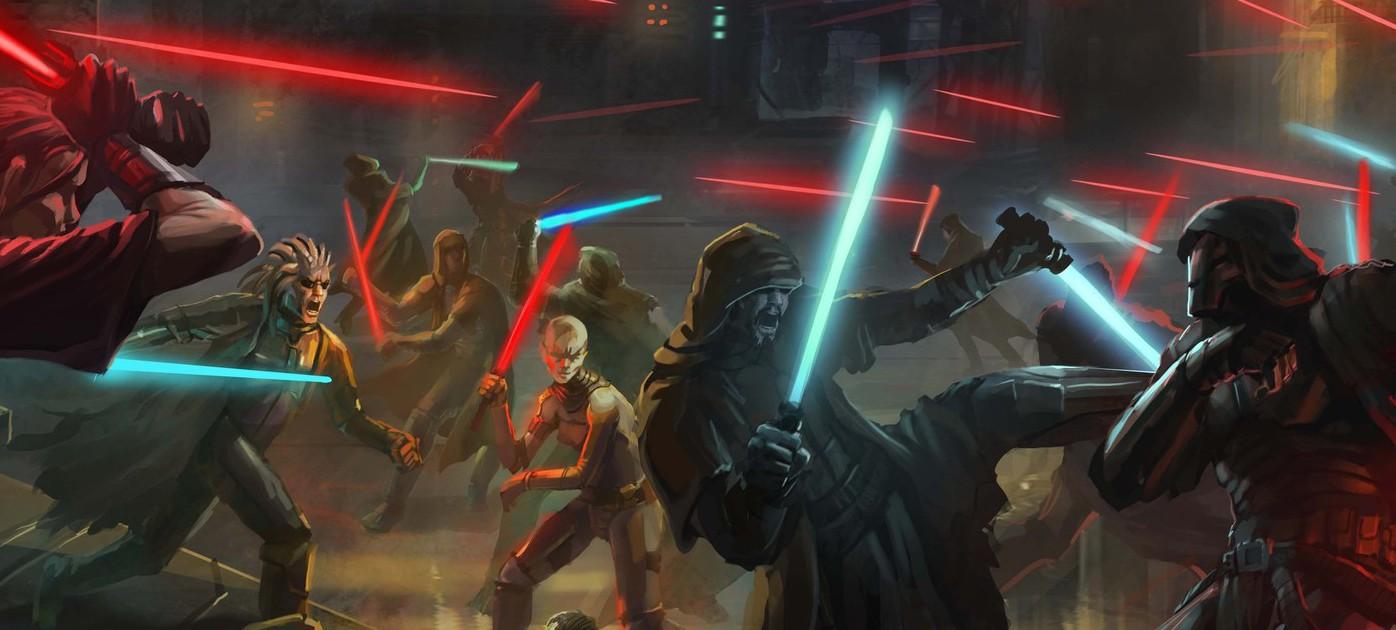 BioWare Austin разрабатывает новую Jedi Knight: Jedi Academy?