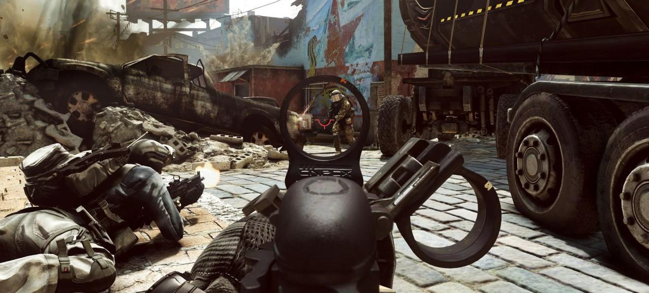 Лайв-экшен ролик дополнения Onslaught для Call of Duty: Ghosts