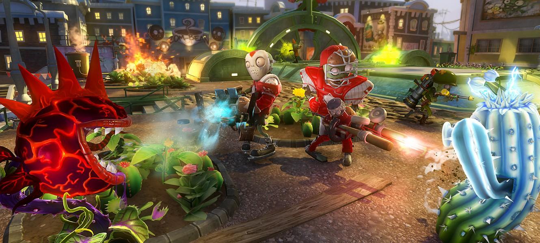 7 минут геймплея Plants vs. Zombies: Garden Warfare