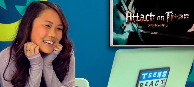 Реакция подростков на Attack on Titan