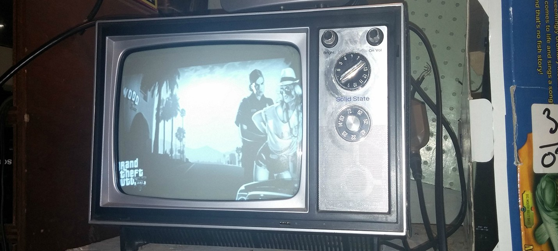 GTA 5, Watch Dogs и Saints Row 4 на ТВ из 1973 года
