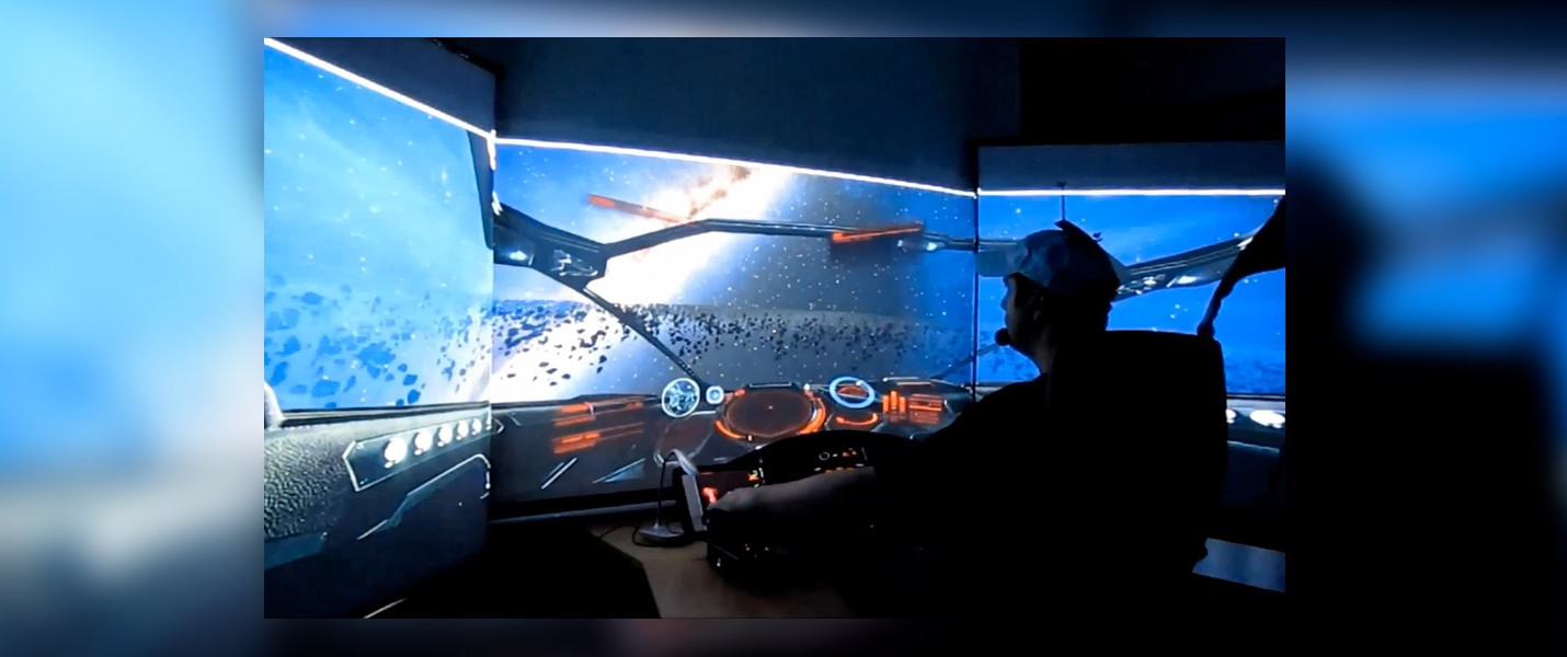 Фанат Elite: Dangerous собрал кабину пилота за $4500