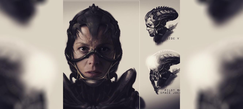 Концепты фильма Alien от Нила Бломкампа