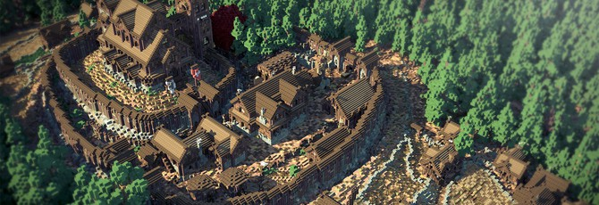 Game of Thrones в Minecraft готов на 70%