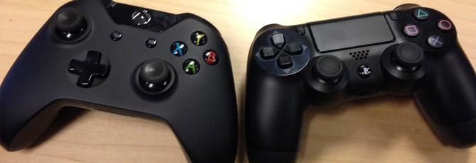 Количество пользователей PS4 и Xbox One на 60% больше чем в прошлом поколении