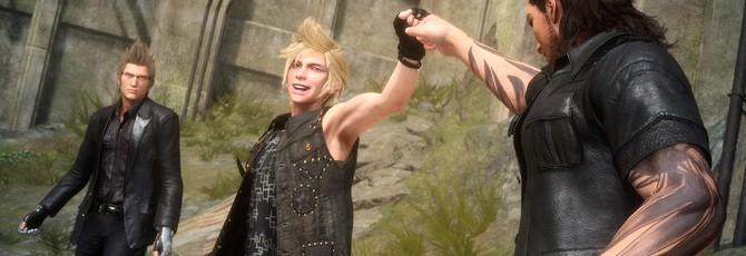 Как создаются шикарные прически Final Fantasy XV