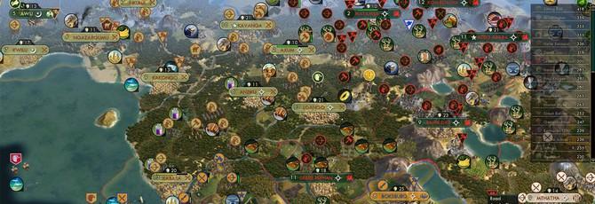 Самая эпичная партия Civilization: как 42 ИИ Цивилизации уничтожают планету