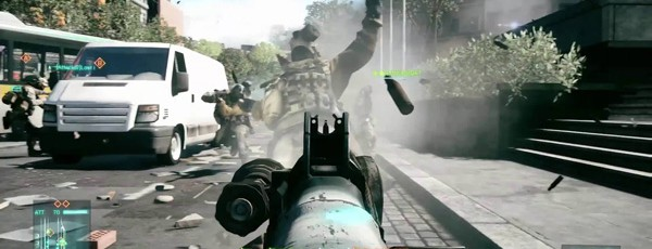 DICE о мультиплеерной графике Battlefield 3