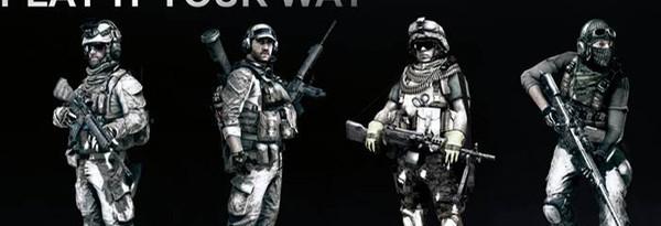 Новые детали Battlefield 3: Биподы и подавляющий огонь