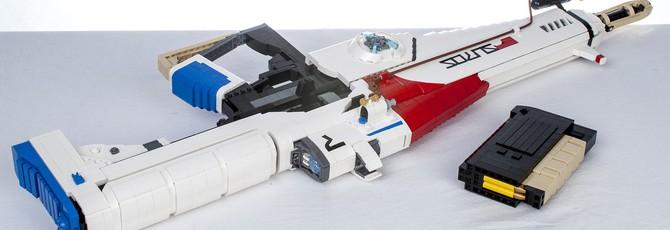 Потрясающие модели оружия и кораблей из LEGO