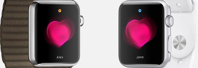 """Одинокие владельцы Apple Watch ищут """"сердца"""" в сети"""