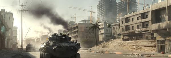 Землетрясения в мультиплеере Battlefield 3