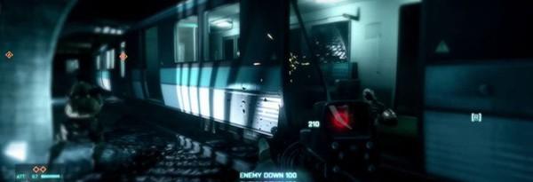 Мультиплеерные скриншоты Battlefield 3 – Операция Метро HQ