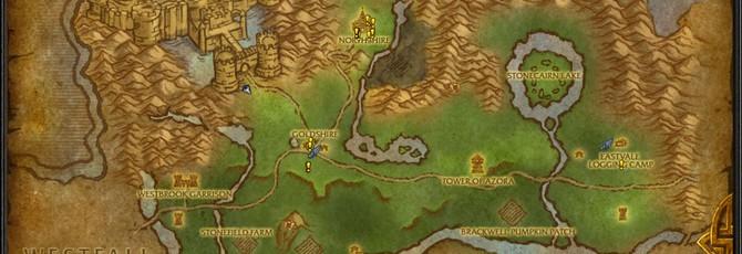 Элвиннский Лес из WoW на Unreal Engine 4