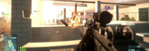Новое видео альфы Battlefield 3