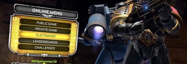 Видео: Кастомизация в Warhammer 40k: Space Marine