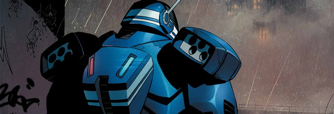 Детальная схема нового боевого костюма Бэтмена