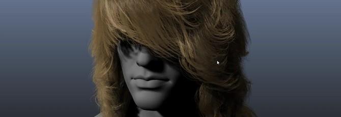 Демонстрация Nvidia Hairworks 1.1