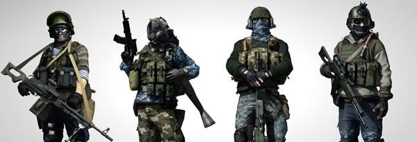 Specact униформа для Battlefield 3