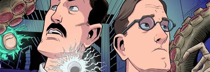 Приключения Никола Тесла и Лавкрафта в виде сериала
